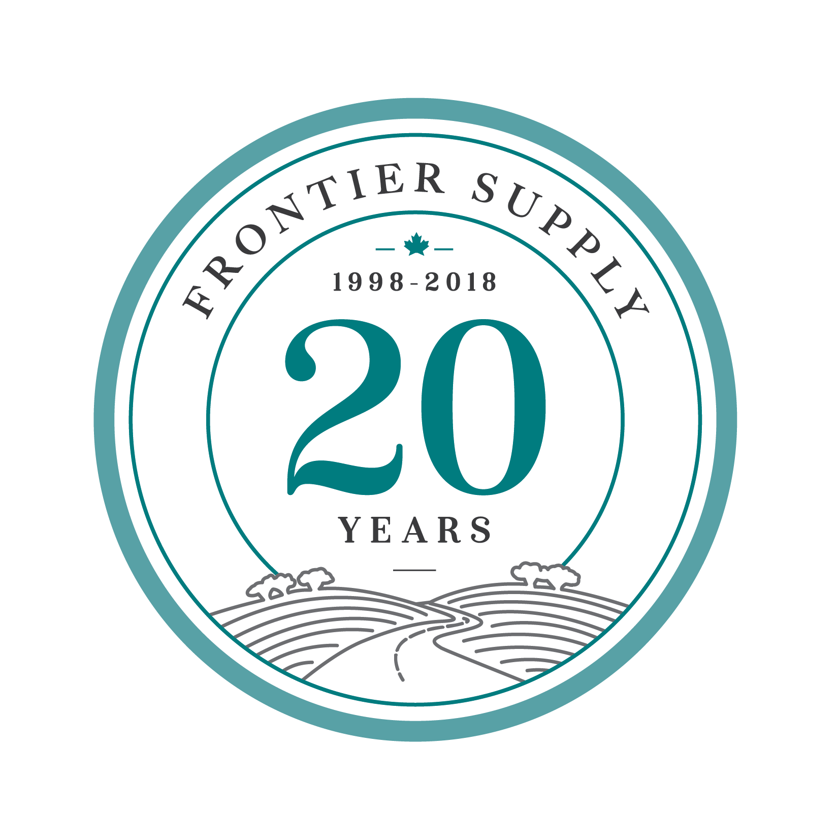 Frontier Supply 20thAnn logo-01