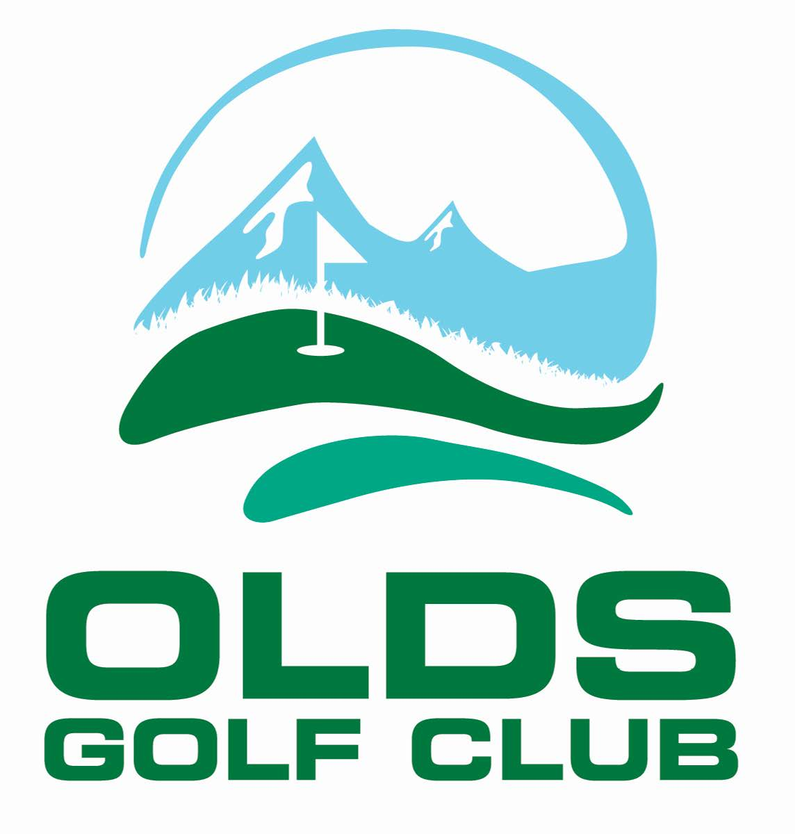 Olds Golf Club Logo PDF Option 2