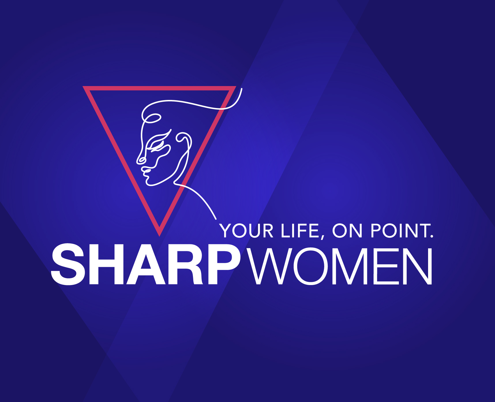 SharpWomenLogo BlueBkg Web